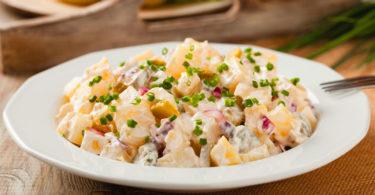 Creamy salade